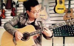 吉他会员唐纯东 民谣吉他会员 四川吉他学会会员照片